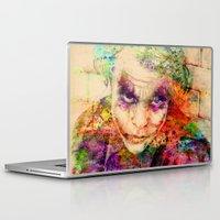 joker Laptop & iPad Skins featuring joker by mark ashkenazi