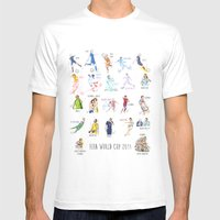 FIFA World Cup 2014 Moments! Mens Fitted Tee White SMALL