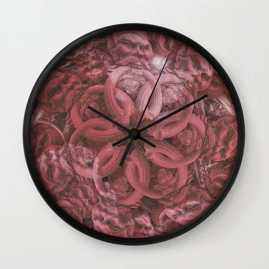 horde Wall Clock