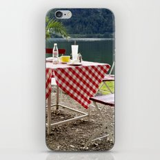 Summer at Hallstatt Lake iPhone & iPod Skin