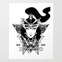 Diablo III. Wizard Art Print
