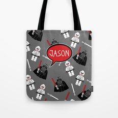 Personalized Darth Tote Bag