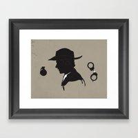 THE WALKING DEAD / RICK GRIMES Framed Art Print