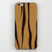 Animal Patterns - Tiger iPhone & iPod Skin