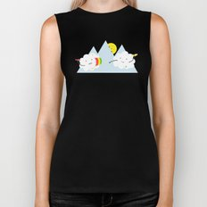 Cloud Fight Biker Tank