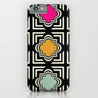 iPhone & iPod Case featuring Geo Tile  by Michelle Nilson
