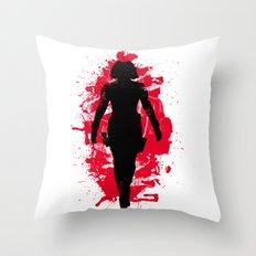 Black Widow (Natasha Romanoff) Throw Pillow