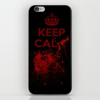 Keep calm? iPhone & iPod Skin