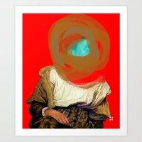 Delacroix Masked Art Print