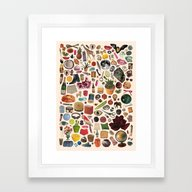 TABLE OF CONTENTS Framed Art Print