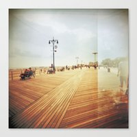 Coney Island #3 Canvas Print