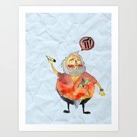 Pi Power! Art Print