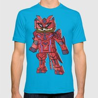 Phantasy Block - Minecra… Mens Fitted Tee Teal SMALL