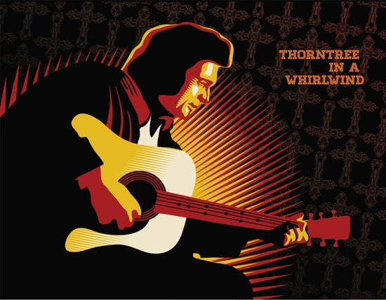 Johnny Cash: ThornTree in a Whirlwind Art Print
