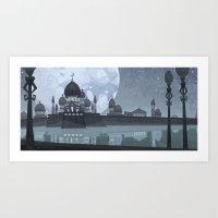 Moon Kingdom Art Print