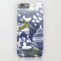 Green Finch Green House iPhone 6 Slim Case