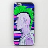 Neon Rock God iPhone & iPod Skin