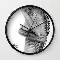 Skin & Bone Wall Clock