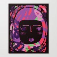 Protect_BLACK Canvas Print