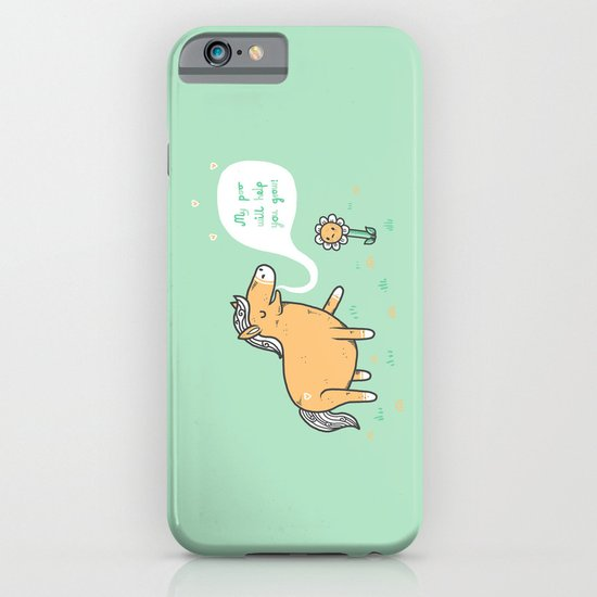 My poo will help you grow! iPhone & iPod Case