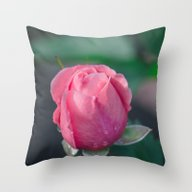 The Rosebud Throw Pillow