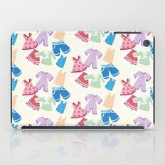 Summer clothes iPad Case