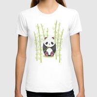 panda T-shirts featuring Panda  by eDrawings38
