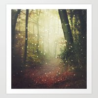 Forest Of Miracles And W… Art Print