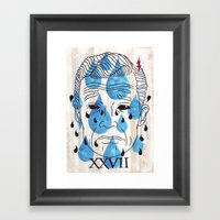 TWENTYSEVEN Framed Art Print