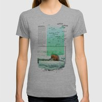Alaskan Brown Bear Womens Fitted Tee Athletic Grey SMALL