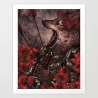 The King Who Lost The No… Art Print
