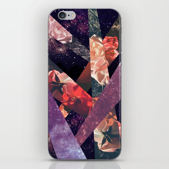 ROSES IN THE GALAXY iPhone & iPod Skin