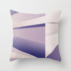 Purple Glam Throw Pillow