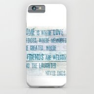 Home Of Love And Laughte… iPhone 6 Slim Case