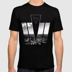 down that hill. Mens Fitted Tee SMALL Black