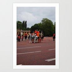 The Royal Carriage 14 Art Print