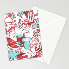 Space Deluxe Stationery Cards