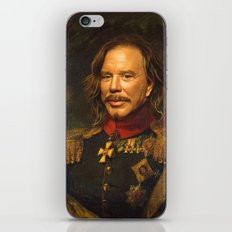 Mickey Rourke - replaceface iPhone & iPod Skin