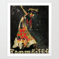 Dance. Illustration Seri… Art Print
