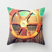 This Is Your Captain Spe… Throw Pillow