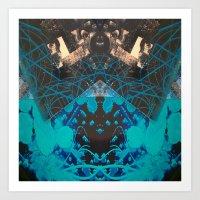 FX#507 - The Blueberry Effect Art Print