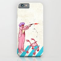 iPhone Cases featuring retirement plan by marella
