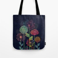 Flower Tales 2 Tote Bag