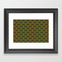 HobNob Camo Multi Framed Art Print