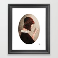 The Monarch Framed Art Print