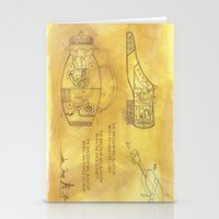 POEM OF SPACESHIP Stationery Cards