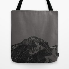 Nature / Winter Mountains Tote Bag