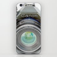 Old Canon AE-1 Camera iPhone & iPod Skin