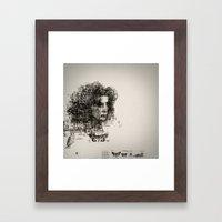 Involuntary Dilation Of … Framed Art Print