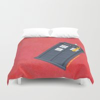 11th Doctor - DOCTOR WHO Duvet Cover